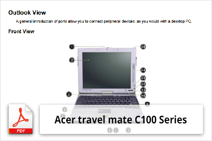 acer travelmate 100 series