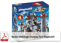 notice montage chateau fort-
