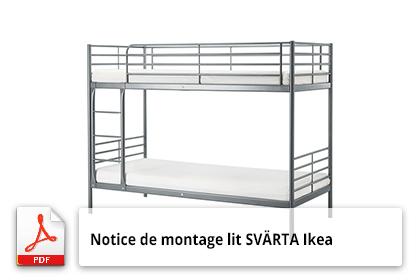 plan de montage lit sv rta ikea notice utilisation. Black Bedroom Furniture Sets. Home Design Ideas