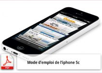 Mode d'emploi d'iphone 5c