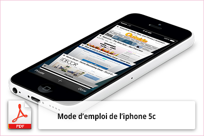 mode d 39 emploi d 39 iphone 5c notice utilisation. Black Bedroom Furniture Sets. Home Design Ideas
