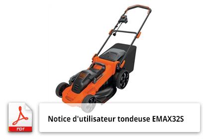 tondeuse emax32s