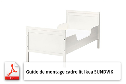 guide de montage cadre lit ikea sundvik notice utilisation. Black Bedroom Furniture Sets. Home Design Ideas