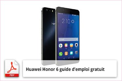 Honor 6 guide d'emploi gratuit