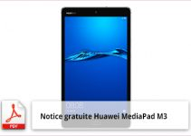 Huawei MediaPad M3 notice d'utilisation gratuit