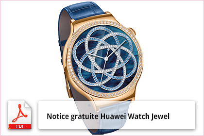 Huawei Watch Jewel guide de démarrage