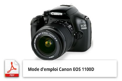 Mode d'emploi du Canon EOS 1100D