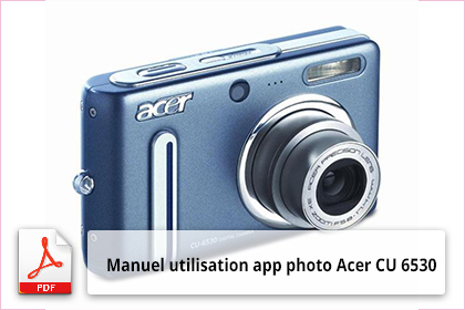 Télécharger notice utilisateur Acer CU 6530 FR
