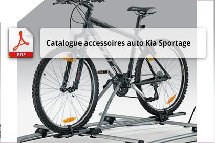 montage support de toit Kia Sportage