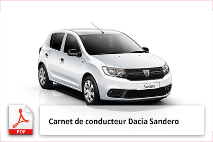 t l charger gratuitement le carnet du conducteur dacia sandero. Black Bedroom Furniture Sets. Home Design Ideas