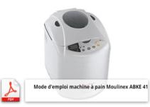 Télecharger mode d'emploi Moulinex ABKE 41