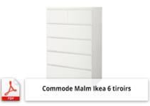 Commode malm ikea ntice de fixation