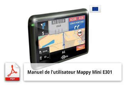 Télécharger Le Manuel De Lutilisateur Du Gps Mappy Mini E301
