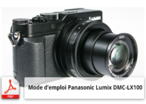 Panasonic Lumix DMC-LX100 mode d'emploi.
