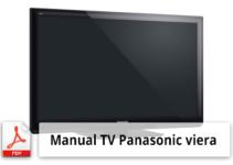 Manual TV panasonic viera