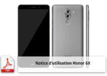 Notice d'utilisation du smartphone Huawei Honor 6X