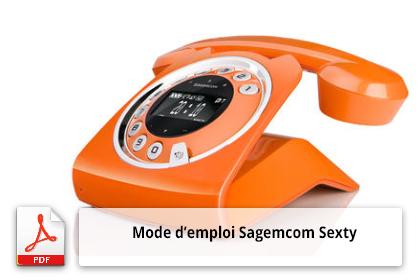 Télécharger le mode d'emploi Sagemcom Sexty