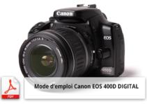 canon eos 400d digital mode d'emploi
