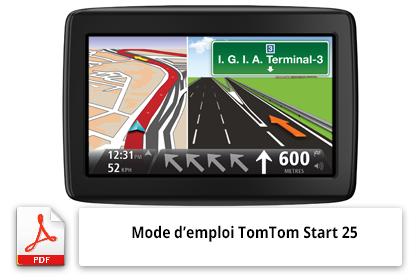 Télécharger le mode d'emploi du gps Tomtom Start 25
