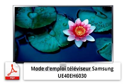 Télécharger le mode d'emploi téléviseur Samsung UE40EH6030