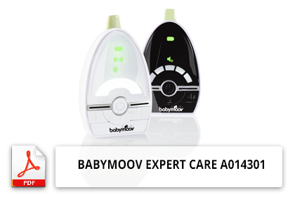 Notice Babyphone Babymoov Expert Care A014301