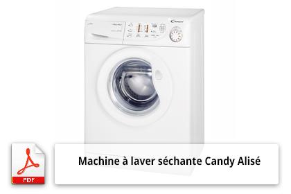 Machine à laver séchante Candy Alisé