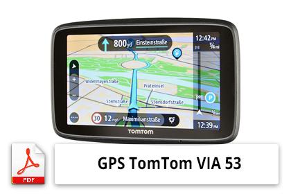 Télécharger la notice TomTom VIA 53