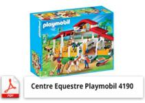 notice de montage centre equestre playmobil 4190