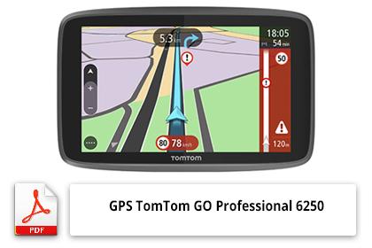 Notice GPS poids lourds TomTom GO Professional 6250