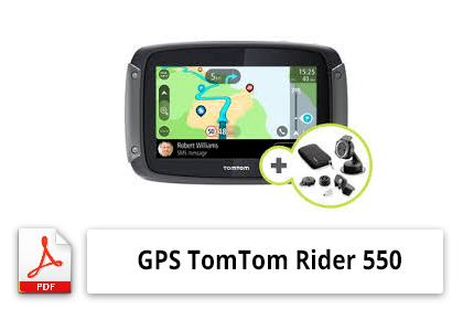 GPS TomTom Rider 550 Mode d'emploi