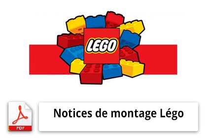 Notices de montage légo: Téléchargement gratuit sur www.lego.com